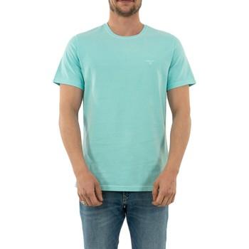 Vêtements Homme T-shirts manches courtes Barbour mml0860 aq12 aqua marine bleu