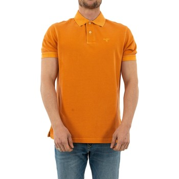 Vêtements Homme Polos manches courtes Barbour mml0652 or15 acid orange