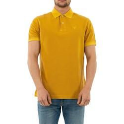 Vêtements Homme Polos manches courtes Barbour mml0652 ye71 mustard jaune