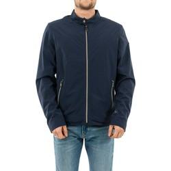 Vêtements Homme Blousons Guess m02l50 cummuter g720 blue navy bleu