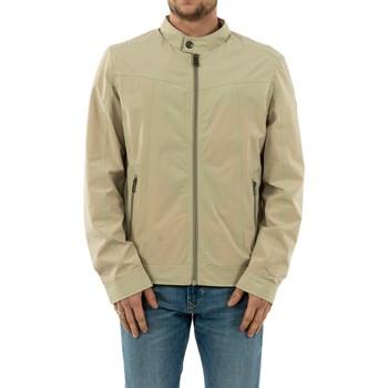 Vêtements Homme Blousons Guess m02l50 cummuter g9h1 tapioca grey beige