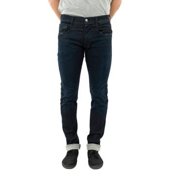 Vêtements Homme Jeans slim Replay anbass slim 007 dark blue bleu