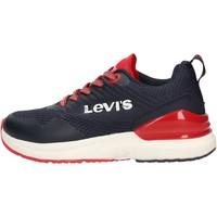 Chaussures Garçon Baskets basses Levi's - Fusion blu VFUS0001T-0290 BLU