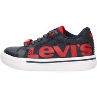 Chaussures Garçon Baskets basses Levi's - Future mega mini blu VFUT0042T-0603 BLU