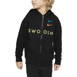 Vêtements Garçon Sweats Nike - Felpa nero 86G341-023 NERO