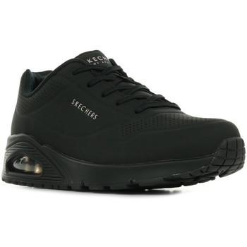 Chaussures Femme Baskets basses Skechers Uno Stand On Air noir