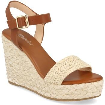 Chaussures Femme Sandales et Nu-pieds Prisska YB519 Beige