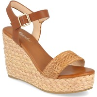 Chaussures Femme Sandales et Nu-pieds Prisska YB519 Camel