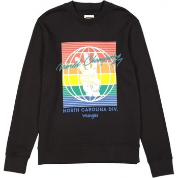 Vêtements Homme Sweats Wrangler Sweat  Globe noir/multicolore