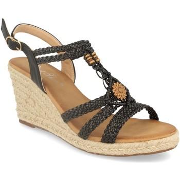 Chaussures Femme Sandales et Nu-pieds Milaya 3R46 Negro