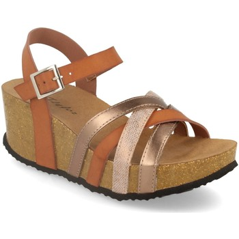 Chaussures Femme Pantalons fluides / Sarouels Silvian Heach M-160 Camel