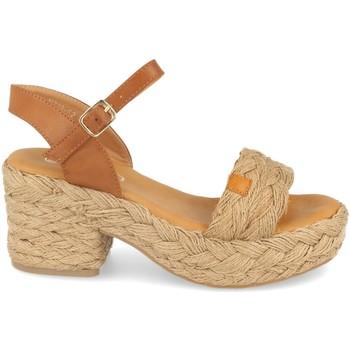 Chaussures Femme Sandales et Nu-pieds H&d YZ19-62 Beige
