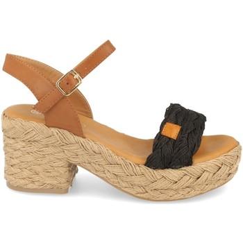 Chaussures Femme Sandales et Nu-pieds H&d YZ19-62 Negro