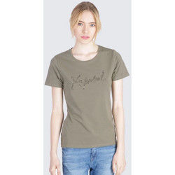 Vêtements Femme T-shirts manches courtes Kaporal RAXI ALOE Kaki