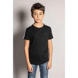 Vêtements Garçon T-shirts manches courtes Deeluxe T-Shirt BANDOSON Black