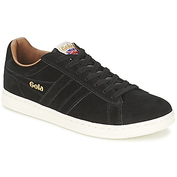 Chaussures Homme Baskets basses Gola EQUIPE SUEDE Noir
