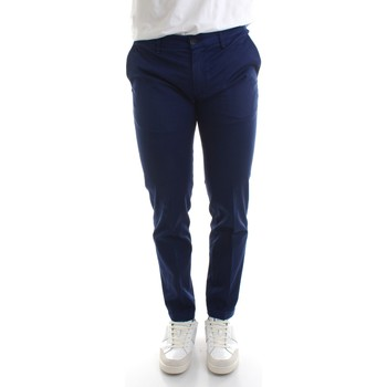 Vêtements Homme Chinos / Carrots Re-hash P249-2389 Bleu