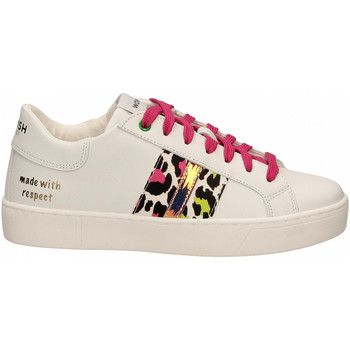 Chaussures Femme Baskets basses Womsh KINGSTON white-fuxia-lemon