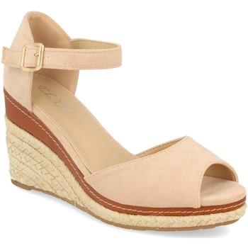 Chaussures Femme Sandales et Nu-pieds H&d EY-19 Beige
