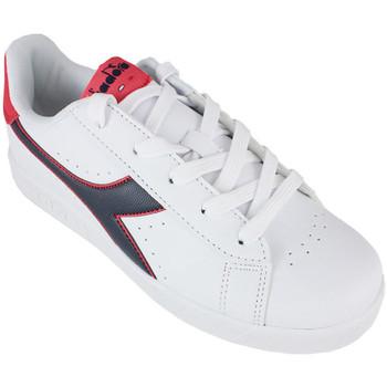 Chaussures Enfant Baskets basses Diadora game p gs c8627 Rouge