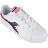 Chaussures Enfant Baskets basses Diadora game p gs c8593 Rose