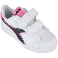 Chaussures Enfant Baskets basses Diadora game p ps c8593 Rose
