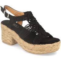 Chaussures Femme Sandales et Nu-pieds H&d YZ19-117 Negro