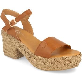 Chaussures Femme Sandales et Nu-pieds H&d YZ19-63A Camel