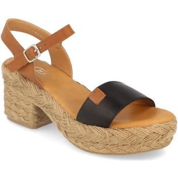 Chaussures Femme Sandales et Nu-pieds H&d YZ19-63A Negro