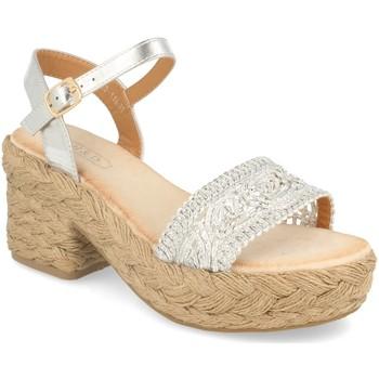 Chaussures Femme Sandales et Nu-pieds H&d YZ19-118 Plata