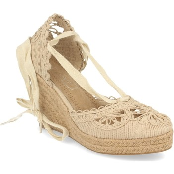 Chaussures Femme Espadrilles H&d YZ19-53 Beige
