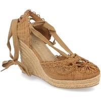 Chaussures Femme Espadrilles H&d YZ19-53 Camel