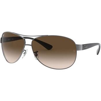 Montres & Bijoux Homme Lunettes de soleil Ray-ban RB3386 Lunettes de soleil aviateur marron