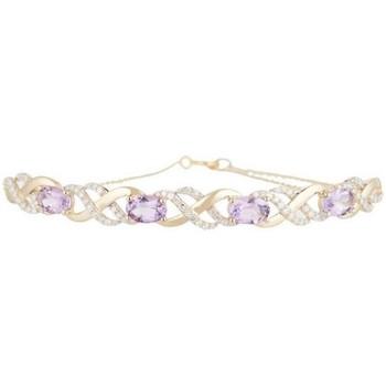 Montres & Bijoux Femme Bracelets Mes-Bijoux.fr Bracelet chaine Or Jaune