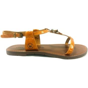 Chaussures Femme Sandales et Nu-pieds Chattawak Sandale 9-ZHOE Jaune Jaune