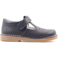 Chaussures Enfant Sandales et Nu-pieds Boni & Sidonie Salomé en Cuir à Scratch - GEORGE Bleu Marine