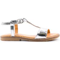 Chaussures Fille Sandales et Nu-pieds Boni & Sidonie Sandales argentées à boucles - LUCE Argenté