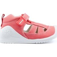 Chaussures Enfant Sandales et Nu-pieds Biomecanics Sandales  CANVAS BABY AZAI RED