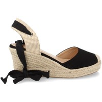 Chaussures Femme Espadrilles Buonarotti 1JB-19264 Negro