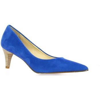 Chaussures Femme Escarpins Elizabeth Stuart Escarpins cuir velours Bleu