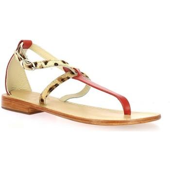 Chaussures Femme Sandales et Nu-pieds Elizabeth Stuart Nu pieds cuir rouge