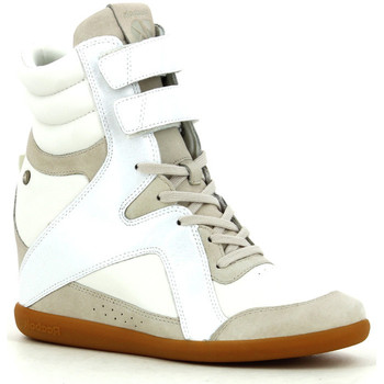 Chaussures Femme Baskets montantes Reebok Sport A Keys Wedge White