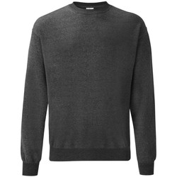 Vêtements Homme Sweats Fruit Of The Loom 62202 Gris foncé chiné