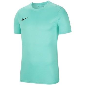 Vêtements Garçon T-shirts manches courtes Nike JR Dry Park Vii Turquoise
