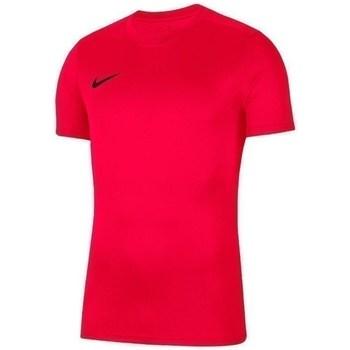 Vêtements Garçon T-shirts manches courtes Nike JR Dry Park Vii Rouge