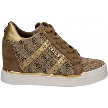 Chaussures Femme Baskets basses Guess FAYNE2 brown