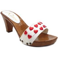 Chaussures Femme Mules Kiara Shoes K5101 Blanc
