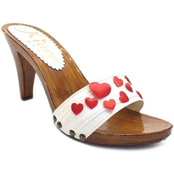 Chaussures Femme Mules Kiara Shoes K6101 Blanc