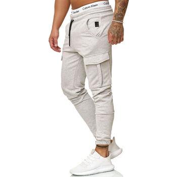 Vêtements Homme Pantalons de survêtement Cabin Jogging treillis homme Jogging R-1213 gris clair Gris