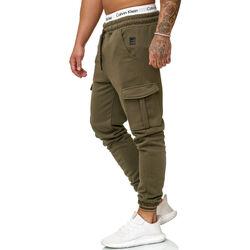 Vêtements Homme Pantalons de survêtement Cabin Jogging cargo pour homme Jogging R-1213 vert kaki Vert